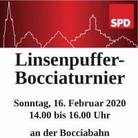 Plakat Bocciaturnier